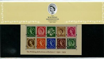 2002-03 WILDINGS GREAT BRITAIN M/SHEETS x2 PRESENTATION PACKS FREEPOST UK!!