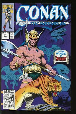 CONAN THE BARBARIAN #251 VF/ NEAR MINT 1991 MARVEL bin-2018-0112