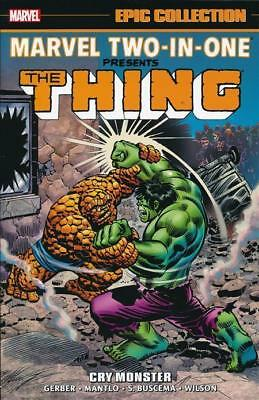 MARVEL TWO-IN-ONE: CRY MONSTER TPB Marvel Epic Collection Vol #1 TP