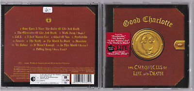 GOOD CHARLOTTE -The Chronicles Of Life And Death- CD near mint