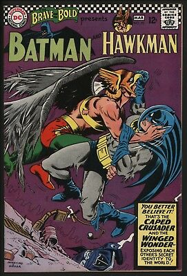 Brave And The Bold 70 Batman/Hawkman Great Infantino Cover. Off White Pages