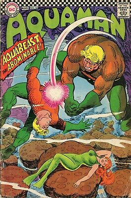 Aquaman #34 GD 2.0 Comic Book DC 1967