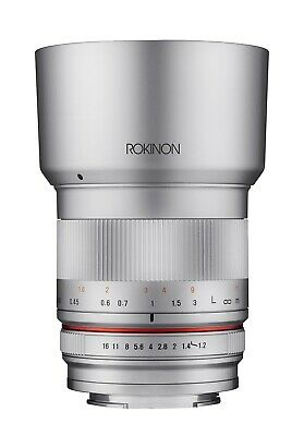 Rokinon 35mm f/1.2 ED AS UMC CS Lens for Fujifilm X-Mount (Silver)