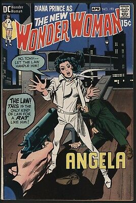 Wonder Woman #193 From Apr 1971 Very Glossy Cents Copy With White Pages