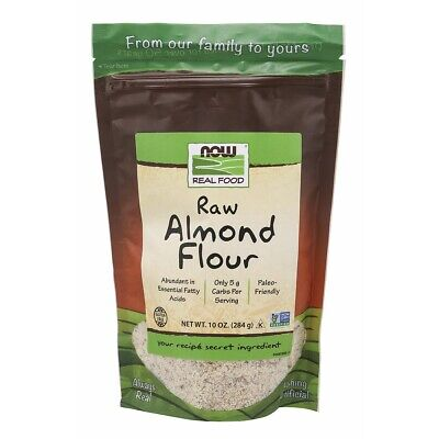 NOW Foods Almond Flour 10 oz Made in USA FREE SHIPPING