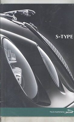 2003 Jaguar US S Type Prestige Brochure wz6002