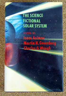 Isaac Asimov THE SCIENCE FICTIONAL SOLAR SYSTEM 1980 Ed HARDBACK Nourse Sheckly