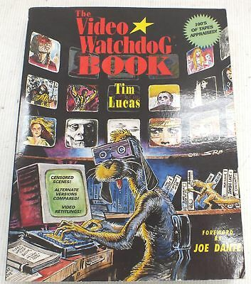 THE VIDEO WATCHDOG Paperback Book 1st Edition 1992 By Tim Lucas  - S28