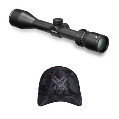 Vortex Optics Diamondback 4-12x40mm Riflescope with Vortex Realtree Camo Cap