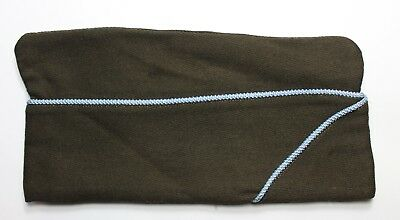 """Original US WWII Army Infantry Piped Overseas Cap Size 7 3/8"""""""