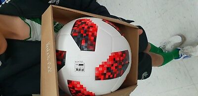 Official Adidas FIFA 2018 Size 5 World Cup Match Ball brand new  hot unused RED
