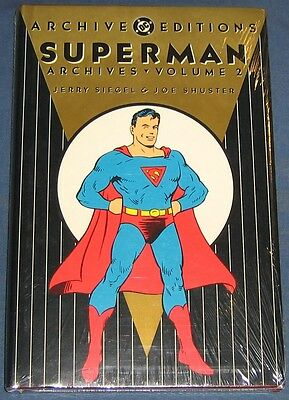 Superman Volume #2  DC Archives  Still Sealed In Original Wrap  NM