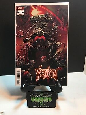 Venom #3 2018 3Rd Print 1St Knull God Of The Symbiotes Nm Cates Stegman