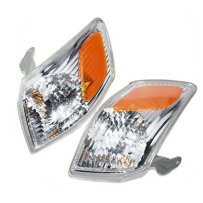 2Pcs 81520AA020 Turn Signal Light Left Right Housing Set  For Toyota Camry 00-01