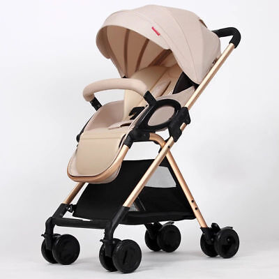 hot Baby Stroller Aluminum Lightweight Anti-vibration Folding Retractable Shed-1