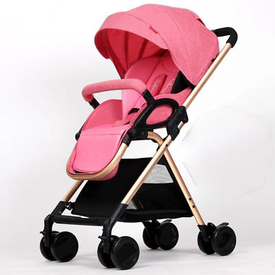 hot Baby Stroller Aluminum Lightweight Anti-vibration Folding Retractable Shed-5