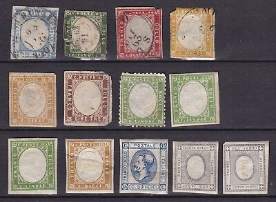 Italy Earlies (31) Used & Mng