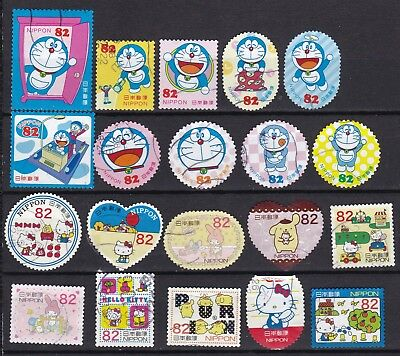 Japan 2 X Different Hello Kitty Sets (46) Used