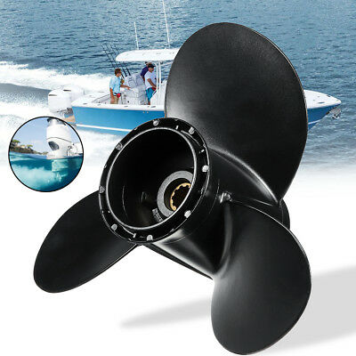 10 1/4 x 11 Aluminum Boat Outboard Propeller For Suzuki 20-30 HP 58100-96420-019