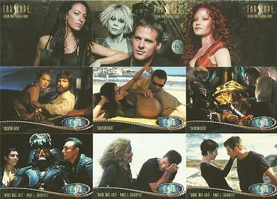 Farscape Season 4 Full 72 Card Base Set of Trading Cards - Rittenhouse Archives