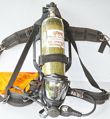 Drager PSS-7000 ATEX SCBA + 45min Carbon Composite Cyl + Mask + Screamer
