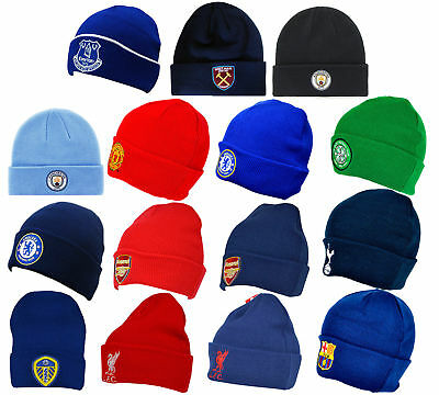 Beanie Hat For Arsenal Tottenham Chelsea West Ham Liverpool Wooly Gift Bronx