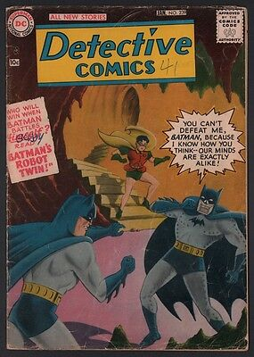 Detective Comics #239 G/VG 3.0 Cream to Off White Pages Early DC Grey Tone Cover