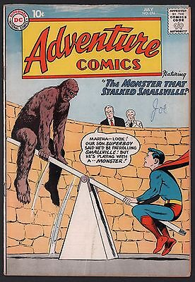 Adventure Comics #274 G/VG 3.0 Cream to Off White Pages