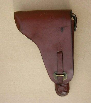 Rare WWII German ally combat Luger Pistol Holster P08 Kingdom Bulgaria
