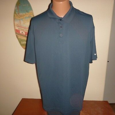 Golf / Polo Shirt by Nike Golf - FitDry - peacock blue/green - size XXL