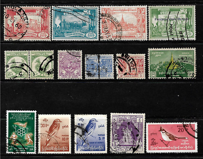 Burma  ..   An excellent stamp collection ...001501