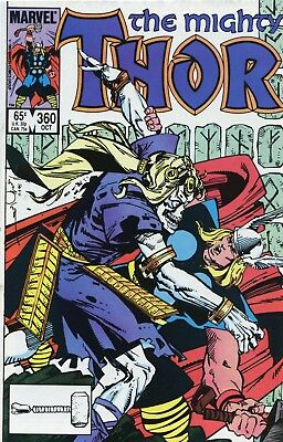 Thor #360 VF+ 8.5 Comic Book Marvel 1985