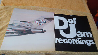 Beastie Boys - Licenced to ill / Top US 13 Track Hip Hop Orig. LP OIS 1986 Rar!