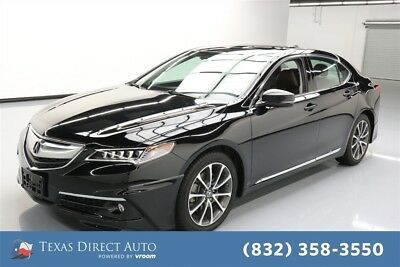 Acura TLX V6 Advance Texas Direct Auto 2015 V6 Advance Used 3.5L V6 24V Automatic FWD Sedan Premium