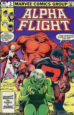 Alpha Fight #2 NM 9.4 Comic Book Marvel 1983