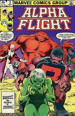 Alpha Fight #2 NM- 9.2 Comic Book Marvel 1983