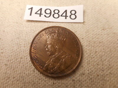 1912 Canada Large Cent Red/Brown - Very Nice Collector Album Coin - # 149848