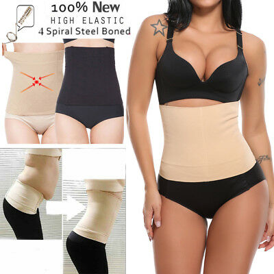 US Postpartum Belly Recovery Band After Baby Tummy Tuck Belt Slim Body Shaper ca