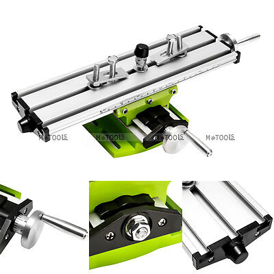 Multifunction Milling Vise Fixture Precision Mini Worktable for Bench Drill