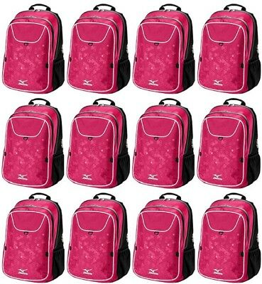 12 Pack Mizuno 470126 Lightning 2 Daypack Volleyball Backpacks New In Wrapper!