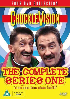 Chucklevision The Complete Series One DVD New 2016