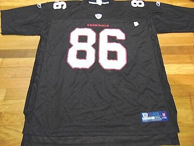 Reebok Nfl Equipment Arizona Cardinals Todd Heap Black Jersey Size 2Xl 9f67e2f05