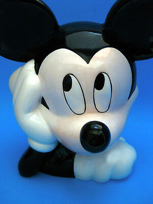 Cookie Jar - Disney Mickey Mouse Ceramic Year 2000 Purchased from Treasure Craft