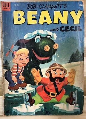 BEANY AND CECIL (1953) Dell Four Color Comics #530 G/VG