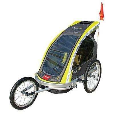 Allen Sports Two Child Aluminum Jogger and Bike Trailer
