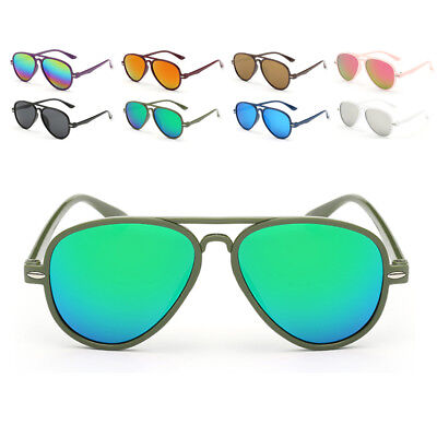 Kids Retro Anti-UV Sunglasses Color Film Goggles New Cool Baby Boy Girls Glasses