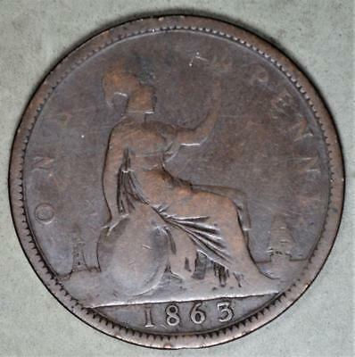 Great Britain 1863 Penny