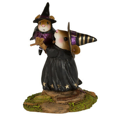 THE FLEDGLING by Wee Forest Folk, WFF# M-616, Witch Mouse
