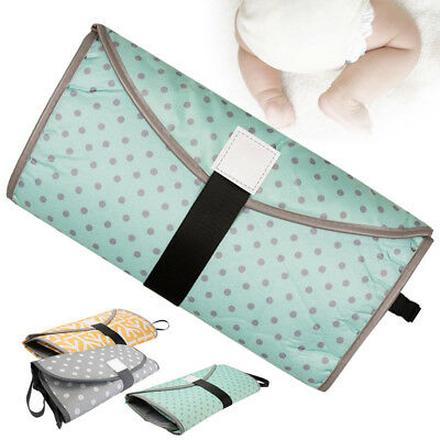 Infant Baby New Changing Mat Sheet Portable Diaper Pad Travel Table Station Kit