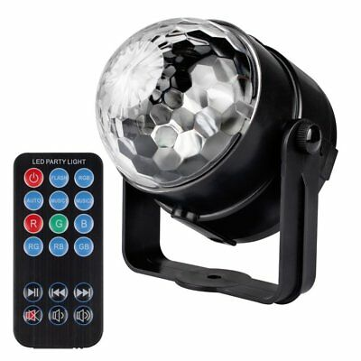 3W Voice Control DJ Disco KTV Party Bar RGB LED Ball Laser Projector Stage Light